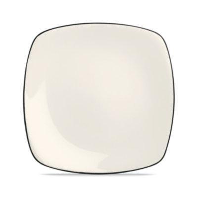 Noritake Dinnerware, Colorwave Graphite Square Dinner Plate