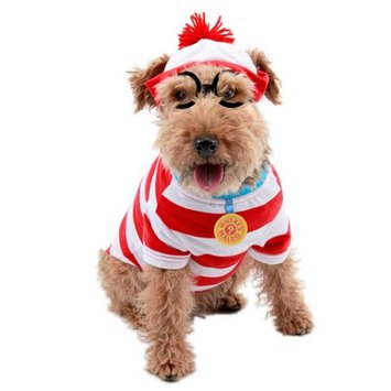Elope Costumes Where's Waldo Woof Pet Costume
