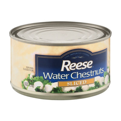Reese Sliced Water Chestnuts