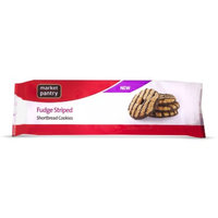 market pantry Market Pantry Fudge Striped Shortbread Cookies 11.5 oz
