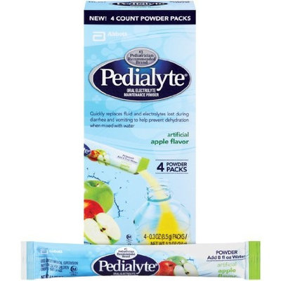 Pedialyte Powder Packs, Apple, 1.2-Ounce (Pack of 2)
