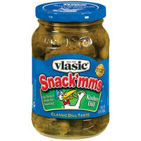 Vlasic Snack'mms Kosher Dill Pickles - 16 oz.