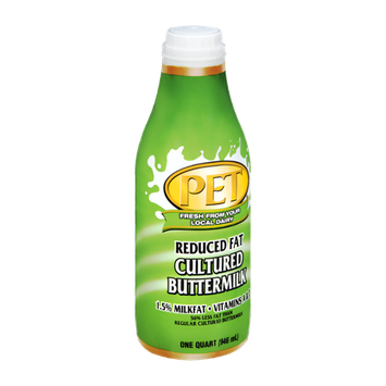 PET Reduced Fat 1.5% Cultured Buttermilk