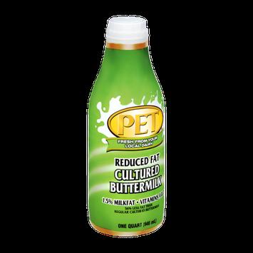 PET Reduced Fat 1.5% Cultured Buttermilk