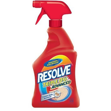 Resolve Triple Oxi Advanced Carpet Stain Remover, 16 Ounce