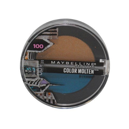 MAYBELLINE COLOR MOLTEN EYE SHADOW #400 SWEEPING BLUE