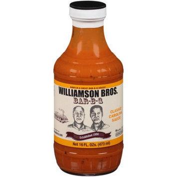 Generic Williamson Bros. Bar-B-Q - Classic Carolina BBQ Sauce