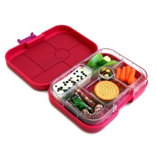 Yumbox Leakproof Bento Lunch Box Container (Framboise Pink) for Kids
