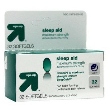 up & up Sleep Aid Softgels 32-pk.