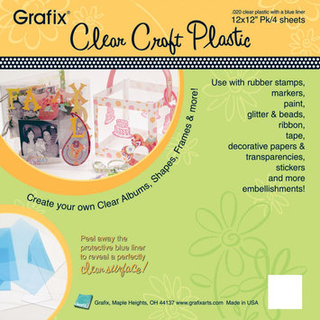 Grafix GRAFIX Craft Plastic Sheets 12