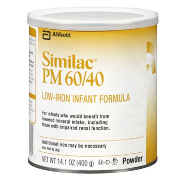 Similac® PM 60/40 Low-Iron Infant Formula