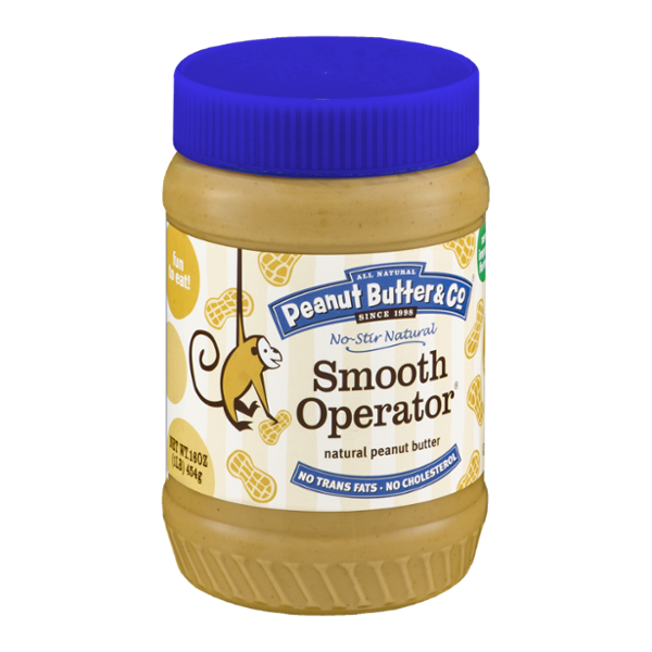 All Natural Peanut Butter & Co. Smooth Operator