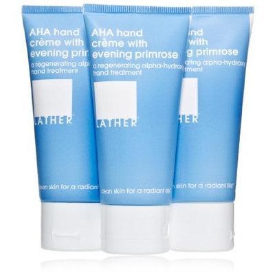 Lather HER AHA Hand Crème with Evening Primrose Trio