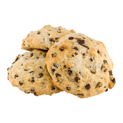 Hot Cakes Bakery Scones Chocolate Chip - 3 CT