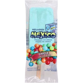 Helados Mexico Bubble Gum Premium Ice Cream Bar, 4 oz