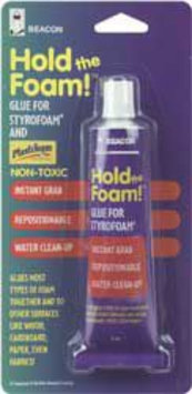 Signature Marketing Beacon Hold the Foam! Styrofoam Glue-2 Ounces