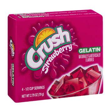 Crush Gelatin Mix Strawberry