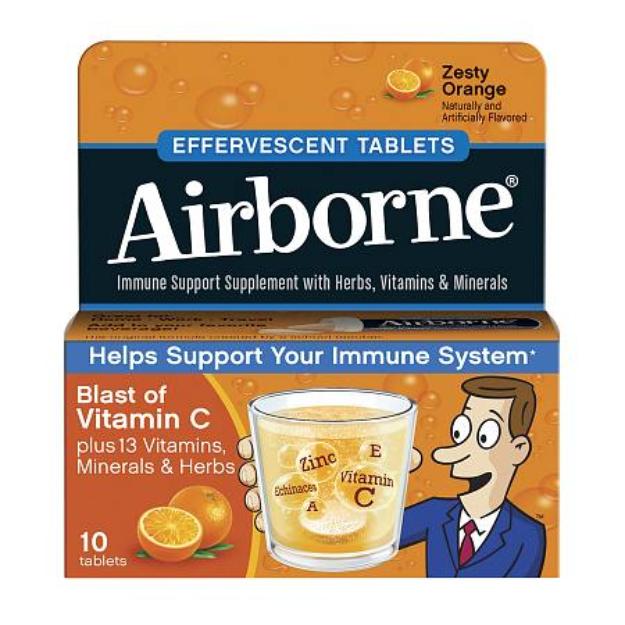 Airborne Effervescence Tablets