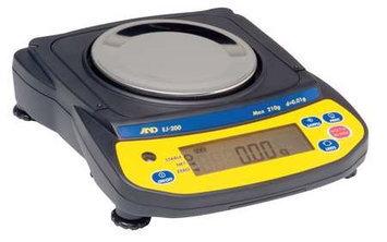 A & D WEIGHING EJ-1500 Compact Balance, SS Platform,1500g Cap.