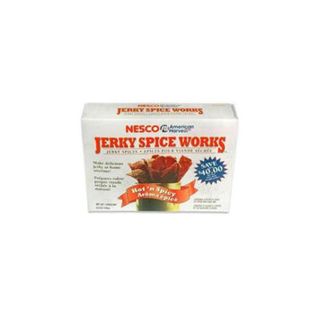 Nesco BJH-6 Jerky Spice Works 6 pack Hot & Spicy Flavor