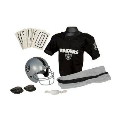 Franklin Sports NFL Raiders Deluxe Uniform Set - Medium