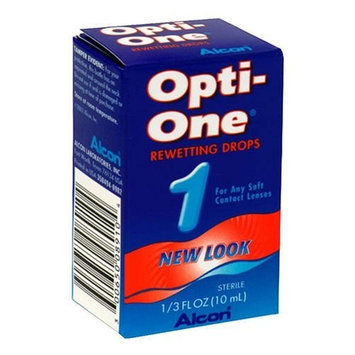 Opti-One Rewetting Drops - .33 Fluid Ounces