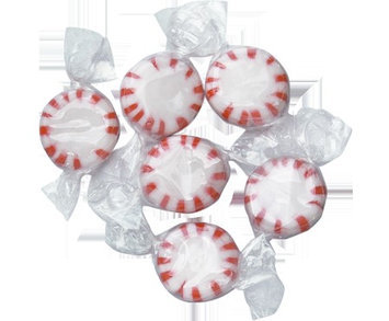 Colombina Peppermint Starlight Mints W/C: 5 LB Bag