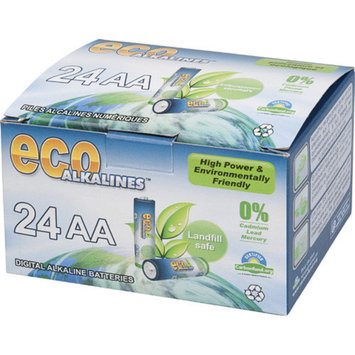 Eco Alkaline Eco Responsible Batteries AA