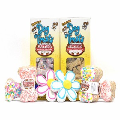 Foppers Gourmet Spring has Sprung 158 piece Gourmet Dog Treat Gift Set