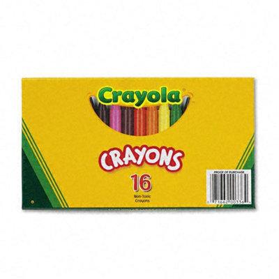 Crayola LLC Large Crayons (16 Colors per Box)