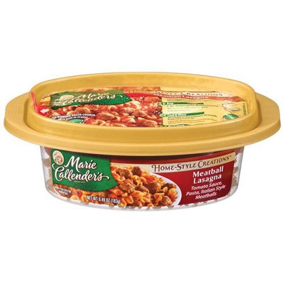 Marie Callender's: Meatball Lasagna Home Style Creations, 6.49 Oz