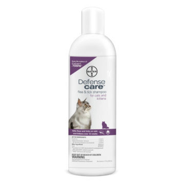 Bayer Defense Care Flea & Tick Cat Shampoo