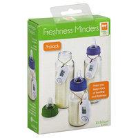 Kidsline Baby Chef Freshness Minders, 3-Pack - 3 freshness minders