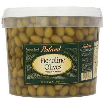 Roland Olives, Picholine, 5.5-Pounds