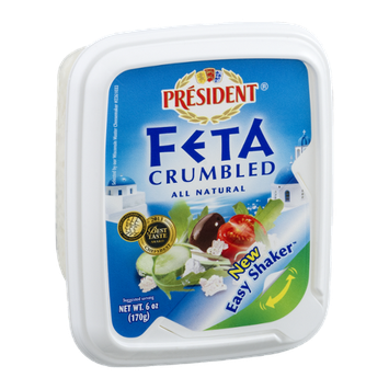 President Feta Cheese Crumbled