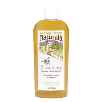 Valley Green Naturals Bugger Off! Outdoor Herbal Skin Oil, 8 fl oz