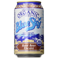Blue Sky Organic Root Beer Encore, 12 Ounce Cans (Pack of 24)