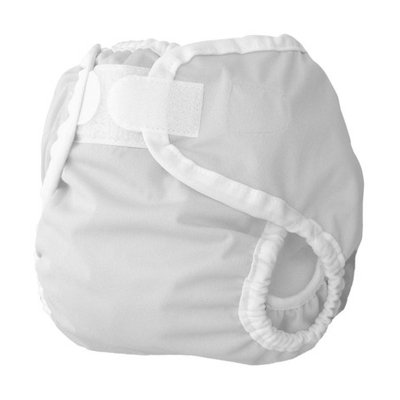 Thirsties Diaper Cover - White Large