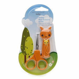 Japonesque Baby Safety Nail Scissors & File