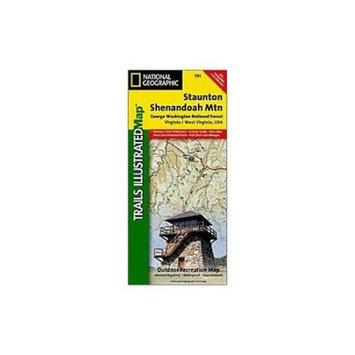 Stanton-shendoah Mts #, Virginia & West Virginia, Publisher - National Geogra