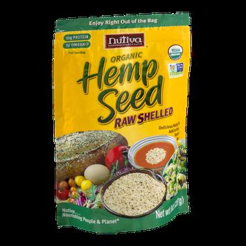 Nutiva Organic Hemp Seed Raw Shelled