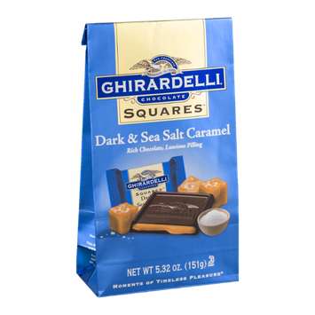 Ghirardelli Chocolate Squares Dark & Sea Salt Caramel