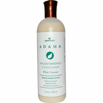 Zion Health Adama Minerals Anti Frizz Conditioner White Coconut 16 fl oz