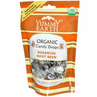 Yummy Earth Organic Candy Drops Roadside Root Beer 3.3 oz Case of 6