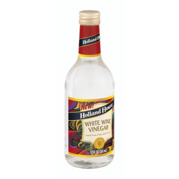Holland House. Holland House Vinegar, White Wine, 12 FL OZ (Pack of 6)