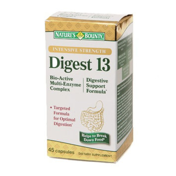Nature's Bounty Digest 13 Multi-Enzyme Complex