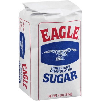 No-brand Eagle Pure Cane Granulated Sugar, 4 lb