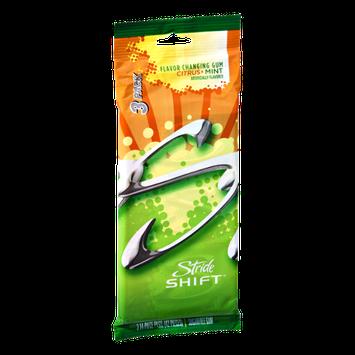 Stride Shift Citrus Mint Sugar Free Flavor Changing Gum- 3 PK