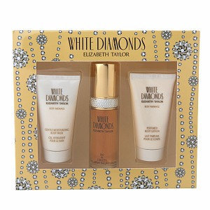 White Diamonds by Elizabeth Taylor 3 Piece Gift Set