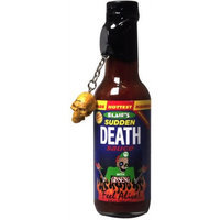 Blair's Sudden Death Sauce with Ginseng and Skull Key Chain - 5 oz